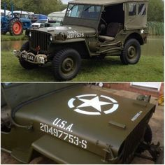 1944 Willys Jeep.  This vintage vehicle was stolen from its owner while on display at Duxford.  Have you seen it?  It's owner would desperately like it back as it is a family heirloom.