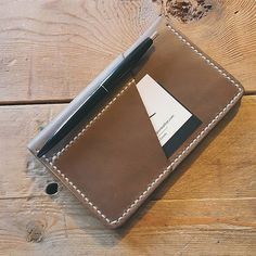 Driftwood Field Notes w/ wraparound pocket.