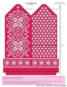selbu charts knitting - Google-søk