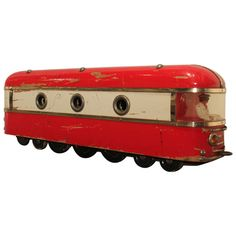 Large Scale Art Deco Wood Toy Train  http://www.1stdibs.com/furniture/folk-art/toys/