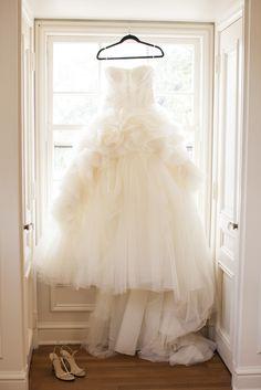 #WeddingDress | See the wedding on #SMP Weddings | http://www.stylemepretty.com/texas-weddings/austin/2013/12/11/traditional-austin-wedding/ SMS Photography