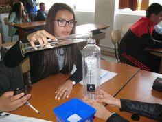 More students tackling global experiment 2 at Scoala Gimnaziala 4 Fratii Popeea, Romania.