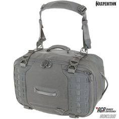 The IRONCLOUD™ adventure travel bag from the Advanced Gear Research line comes equipped with a side carry strap, stowable backpack straps and multiple handles for maneuvering luggage. Single Travel, Computer Bags, Leather Bags Handmade, Backpack Straps, Wanderlust Travel, Travel Bags, Travel Backpack, Adventure Travel, Shoulder Strap