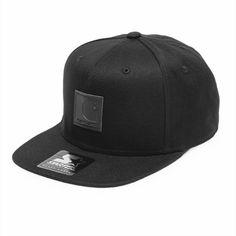 ba952d6a223b6 Carhartt WIP Logo Starter Cap Black Streetwear Shop