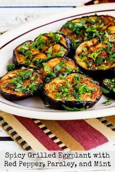 This spicy grilled eggplant is a perfect Meatless Monday dish, and this easy grilled eggplant is also low-carb, Keto, low-glycemic, gluten-free, dairy-free, Paleo, Whole 30, vegan, and South Beach Diet Phase One! Use the Recipes-by-Diet-Type Index to find more recipes like this one. Click here to PIN spicy grilled eggplant so you can make it later! I first…