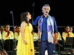 04.08.2015 | TEATRO DEL SILENZIO CONCERT  O soave fanciulla-Andrea Bocelli e Monica Yunus