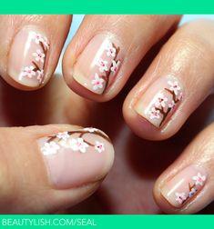 Twigs and Figs | Sea l.'s (seal) #nail #nails #nailart