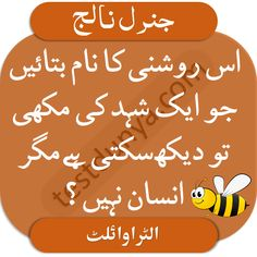 General Knowledge Questions and Answers in Urdu Quiz With Answers, Gk Questions And Answers, Question And Answer, This Or That Questions, English Thoughts, Knowledge Quiz, English Course, Riddles, Guide Book