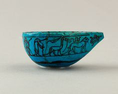 """Feeding Cup  Late Middle Kingdom Dynasty:     Dynasty 12, late –13 Date:     ca. 1850–1700 B.C. Geography:     Country of Origin Egypt, Memphite Region, Lisht North, cemetery west of pyramid, """"toilet basket II,"""" deposited, not with burial. @  metmuseum.org"""