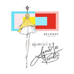 DELPOZO, my geometric love... @officialdelpozo @josepfontc #fashionillustration #quicksketch #delpozo #josepfont #designer #creative #nyfw #spring #collection #art #quicksketch #geometric #inspiration #josefalbers #interactionofcolor #shapes #artist #illustrator #thedailyscribble #bestofNYFW