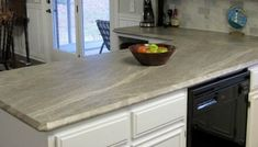 Remodelaholic | Affordable Stainless Steel Countertops; DIY Diy Wood Countertops, Epoxy Countertop, Butcher Block Countertops, Solid Oak Doors, Stainless Steel Counters, Buffet Cabinet, Wood Vinyl, Kitchen Cabinets, Home Decor