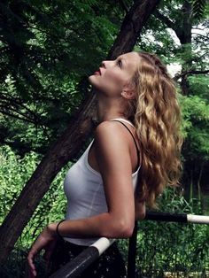 Summer fashion model photography