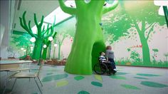 Children's Hospitals Make Room for Mom, Dad and Diversions #wsj