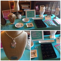 Make and take display for Origami Owl Jewelry Bar www.socorrogivesahoot.origamiowl.com