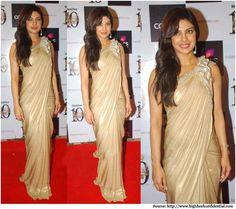 Priyanka Chopra in Sarees | Bollywood Sarees, Designer Sarees, Dresses