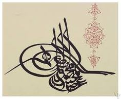 The ottomans where masters of arabic writing. Just took a photo some. They call it calligraphy and it is truly a amazing art