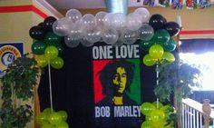 Bob Marley Birthday Party Ideas   Photo 3 of 17