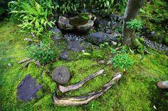 京都南禅寺大寧軒の手水鉢