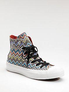 73ed256cd9b8 Converse - Missoni High-Top Sneakers
