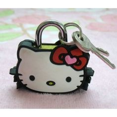 Hello Kitty lock
