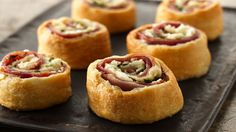 "600 recipes using Pillsbury crescent rolls - use 'reduced fat"" or ""recipe creations"" versions for healthier version"