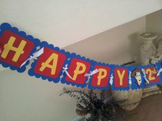 Toy Story Birthday Banner by ajzdelights on Etsy, $28.00