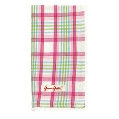 Pink check table napkins from simply-living.co.uk @ £7.50 each. Table Dressing, Napkins, Rose, Check, Pink, Towels, Dinner Napkins, Roses, Pink Hair