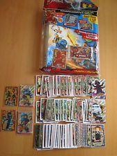 LEGO Ninjago Trading Cards KOMPLETT-SATZ-SET 190 Karten + Sammelmappe inkl 3 LE