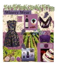 """""""Winery Wear"""" by erojas-1 ❤ liked on Polyvore featuring Laura Ashley, MSGM, Nina, Terre Mère, Designers Guild, MAC Cosmetics, Ulster Weavers, Yves Saint Laurent, Sebastian Professional and Smith & Cult"""