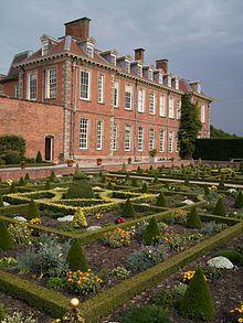 Hanbury Hall, Worcestershire, England.