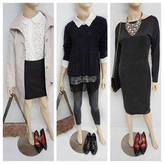 3 Inšpirácie vyskladané z 12 rôznych kúskov oblečenia Polyvore, Image, Fashion, Moda, Fashion Styles, Fashion Illustrations