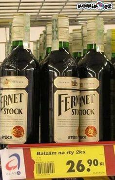 Fernet se prodává jako balzám na rty