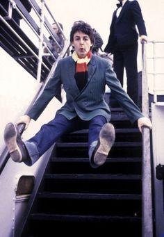 Paul having fun