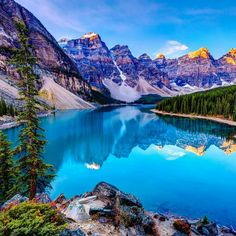 Incredible Travel Products You Didn't Know You Needed Moraine Lake ~ Banff National Park, Lake Louise, Alberta, Canada! I book travel! Land or Sea! Banff National Park, National Parks, Lago Moraine, Places To Travel, Places To See, Vacation Places, Travel Destinations, Places Around The World, Around The Worlds