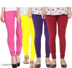 Leggings & Tights  Fancy Fashionista Women Leggings  Fabric: 100% Pure Cotton Lycra Pattern: Solid Multipack: 4 Sizes:  30 (Waist Size: 30 in Length Size: 40 in)  32 (Waist Size: 34 in Length Size: 40 in)  34 (Waist Size: 34 in Length Size: 40 in)  36 (Waist Size: 36 in Length Size: 40 in)  38 (Waist Size: 38 in Length Size: 40 in) Country of Origin: India Sizes Available: Free Size, 28, 30, 32, 34, 36, 38, 40   Catalog Rating: ★3.9 (508)  Catalog Name: Fancy Fashionista Women Leggings CatalogID_1104989 C79-SC1035 Code: 964-6920719-7911