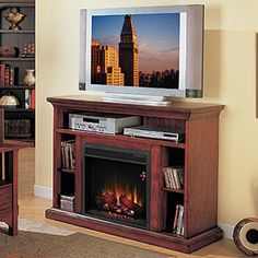 "Beverly 23"" Cherry Electric Fireplace"
