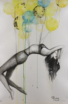 Desire by Sara Riches #art #passion