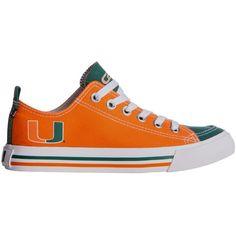 Skicks Miami Hurricanes Low Top Sneaker, Team