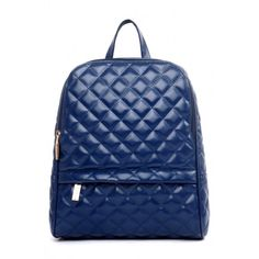 Charming Diamond Shaped Woman Backpack OASAP.COM (110 BRL) ❤ liked on Polyvore featuring bags, backpacks, blue backpack, rucksack bags, day pack backpack, vegan leather bags and vegan backpack