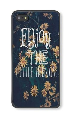 iPhone 5/5S Phone Case DAYIMM Enjoy The Little Things Black PC Hard Case for Apple iPhone 5/5S Case DAYIMM? http://www.amazon.com/dp/B017LCH5MK/ref=cm_sw_r_pi_dp_iuvpwb0D80PY8
