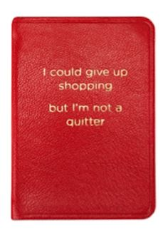 cute little shopping notebook