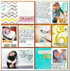 January 2013 HIP KIT Project Life Layout created by our design team member, Melanie Blackburn.  To purchase the HIP KIT used to create this and many other projects for 30.00 or to join our HIP KIT CLUB and have a new HIP KIT automatically delivered right to your door each month for only 25.00/mo - visit our website and online store at WWW.HIP2BSQUARE.COM