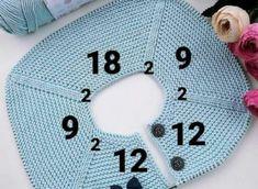 Best 12 💕💕 👏💖💐👼 İpim la mia baby cotton için 12 2 9 2 18 2 9 2 20 s Diy Crafts Knitting, Diy Crafts Crochet, Knitting For Kids, Knitting For Beginners, Start Knitting, Easy Knitting, Crochet Vest Pattern, Baby Knitting Patterns, Baby Patterns