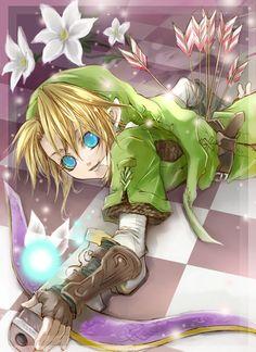 Link's Crossbow Training fan art   トレーニングしようよ!2008/08