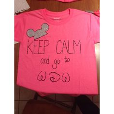 HomeMade Disney Shirt! Cheap, cute, and a nice family shirt.!