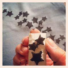 tampons étoiles