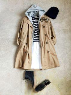 ナチュラル服のイタフラ │italie to franceのテーラードジャケットコーディネート-WEAR