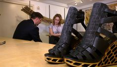 3D Printed Gold Shoes Fit for an Olympian