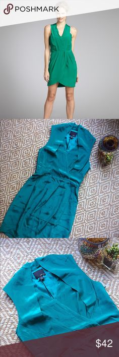 """Greylin """"Maggie"""" Silk Dress 