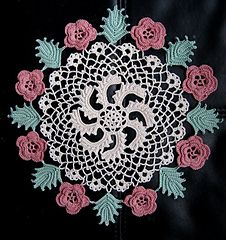 Ravelry: Irish Rose Doily pattern by American Thread Company